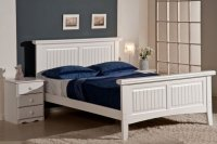 Lazio 4ft 6in Double Painted Pine Bed