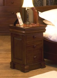 Rochester Mahogany 4 Drawer Lamp Table