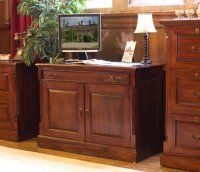 Rochester Mahogany Hidden Home Office Desk