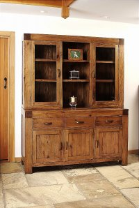 Santana Reclaimed Oak Glazed Dresser