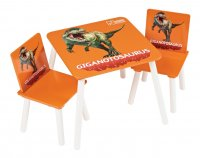 Giganotosaurus Table And 2 Chairs
