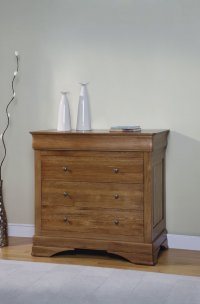Chateau Oak 4 Drawer Smaller Chest