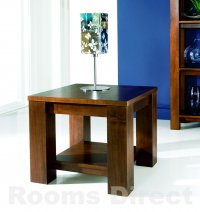 Cuba Acacia Lamp Table
