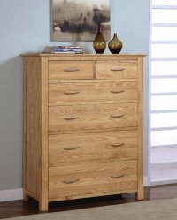 Greenwich Ashwood 2/4 Chest Of Drawers