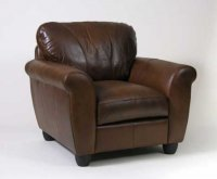 knighsbridge Leather Armchair - Aniline Leather