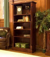 Rochester Mahogany Tall Open Bookcase