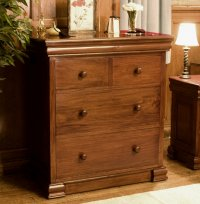 Rochester Mahogany 4 Drawer Chest of Drawers