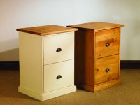 Mottisfont Painted Pine Double Filing Cabinet