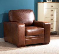 Chelsea Leather Armchair