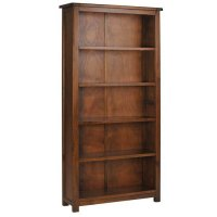 Boston Dark Pine Bookcase Tall