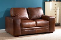 Chelsea Leather Sofa - 2 Seater