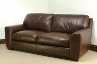 Eaton Leather Sofa - 3 Seater - Brown Analine Leather