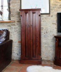 Rochester Mahogany CD/DVD Cupboard
