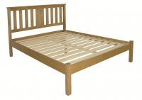 Hamilton Hardwood Bed 4ft 6in Double Low Footend