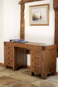 Santana Reclaimed Oak Desk