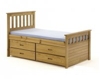 Ferrara 3ft Pine Antique Storage Bed Kids