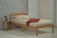 Bed in A Box Antique Pine 3ft Single