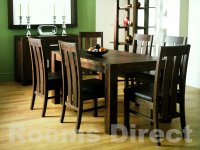 Lyon Walnut 180cm Extending Dining Table (Table Only)