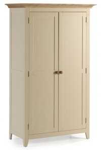 Camden Painted Pine Wardrobe Full Length