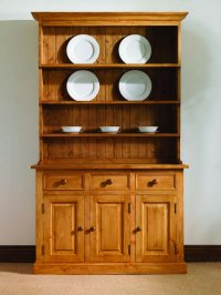 Mottisfont Pine Dresser - Farmhouse 4ft - Waxed