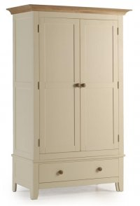 Camden Painted Pine Wardrobe 2 Door with Drawer