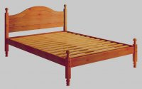 Dovedale 4ft 6in Low End Bedstead