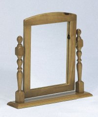 Verona Antique Pine Dressing Table Mirror